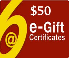 $50 Gift Certificate - Via Email