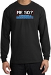 50th Birthday Long Sleeve Shirt - Funny Me 50 Years Black Longsleeve