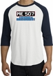 50th Birthday Raglan Shirt - Funny Me 50 Years White/Navy Tee Shirt