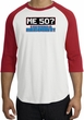 50th Birthday Raglan Shirt - Funny Me 50 Years White/Red Tee Shirt