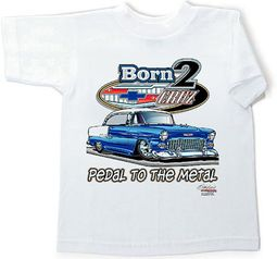 55 Chevy Kids Tee Shirt - Classic Car Youth Clothing