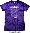 6 Pack Abs Beer Funny Spider Tie Dye Shirt