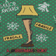 A Christmas Story Leg Lamp Faux Ugly Sweater