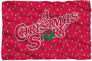 "A Christmas Story Microfiber Fleece Blanket - 36"" X 58"""