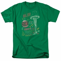 A Christmas Story Shirt Its A Major Prize Kelly Green T-Shirt