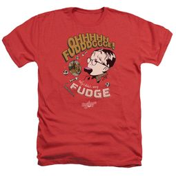 A Christmas Story Shirt Oh Fudge Heather Red T-Shirt