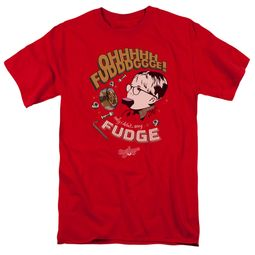 A Christmas Story Shirt Oh Fudge Red T-Shirt