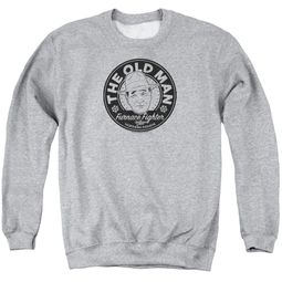 A Christmas Story Sweatshirt The Old Man Adult Athletic Heather Sweat Shirt