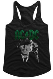 AC/DC Juniors Tank Top Angus Growl Black Racerback