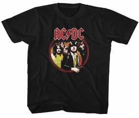 AC/DC Kids Shirt Highway To Hell Black T-Shirt