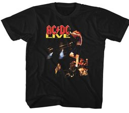 AC/DC Kids Shirt Live Black T-Shirt