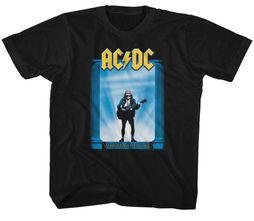 AC/DC Kids Shirt Who Made Who Black T-Shirt