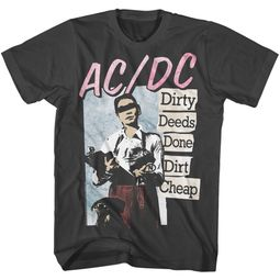 AC/DC Shirt Dirty Deeds Done Dirt Cheap Black T-Shirt