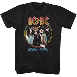 AC/DC Shirt Highway To Hell Black T-Shirt