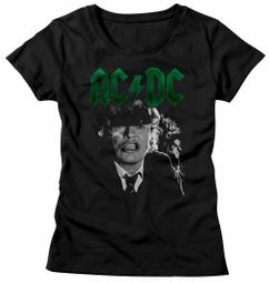 AC/DC Shirt Juniors Angus Growl Black T-Shirt