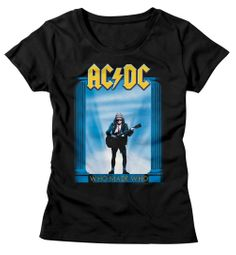 AC/DC Shirt Juniors Who Made Who Black T-Shirt