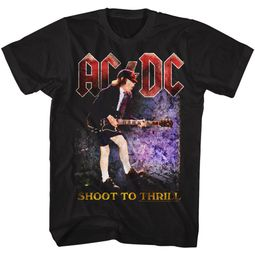 AC/DC Shirt Shoot To Thrill Black T-Shirt