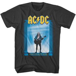 AC/DC Shirt Who Made Who Black T-Shirt
