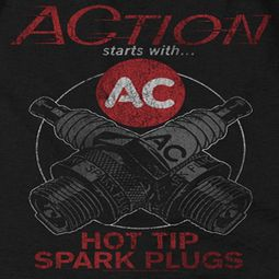 AC Delco Hot Tip Spark Plugs Shirts