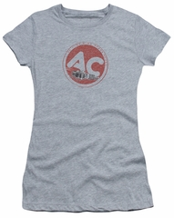 AC Delco Juniors Shirt Fire Ring Spark Plugs Athletic Heather T-Shirt