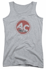 AC Delco Juniors Tank Top Fire Ring Spark Plugs Athletic Heather Tanktop