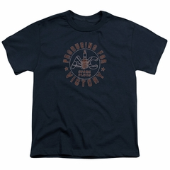 AC Delco Kids Shirt Spark Plugs Victory Navy Blue T-Shirt