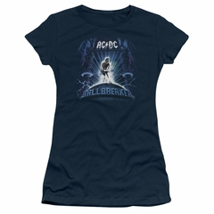 ACDC Juniors Shirt Ball Breaker Navy T-Shirt