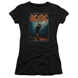 ACDC Juniors Shirt Let There Be Rock Black T-Shirt