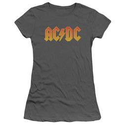 ACDC Juniors Shirt Logo Charcoal T-Shirt