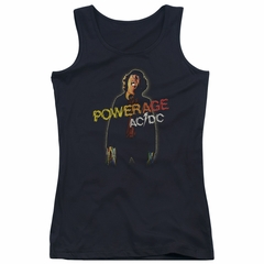 ACDC Juniors Tank Top Powerage Black Tanktop
