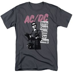 ACDC Shirt Dirty Deeds Charcoal T-Shirt