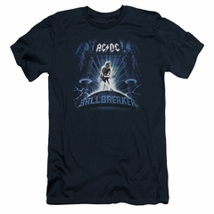 ACDC Slim Fit Shirt Ball Breaker Navy T-Shirt