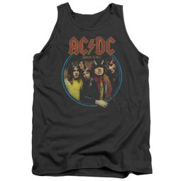ACDC Tank Top Highway To Hell Charcoal Tanktop