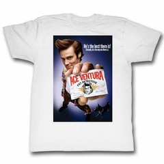 Ace Ventura Shirt Color Poster Adult White Tee T-Shirt
