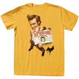 Ace Ventura Shirt Gingerventura Gold Tee T-Shirt