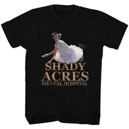 Ace Ventura Shirt Shady Shades Black Tee T-Shirt