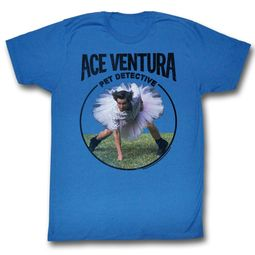 Ace Ventura Shirt Ventura Adult Royal Blue Tee T-Shirt