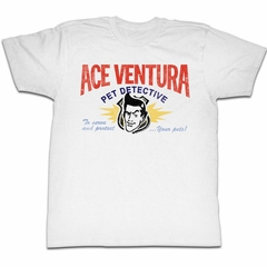 Ace Ventura Shirt Your Pets Adult White Tee T-Shirt