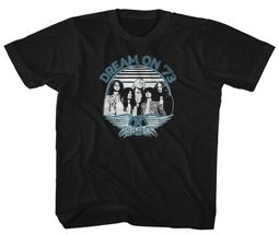 Aerosmith Kids Shirt Dream On '73 Black T-Shirt