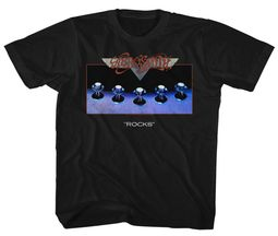 Aerosmith Kids Shirt Rocks Black T-Shirt