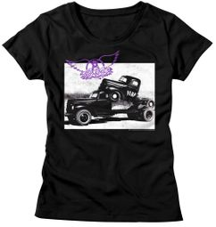 Aerosmith Shirt Juniors Pump Black T-Shirt