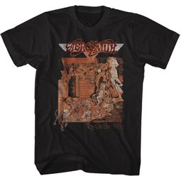 Aerosmith Shirt Toys In The Attic Black T-Shirt