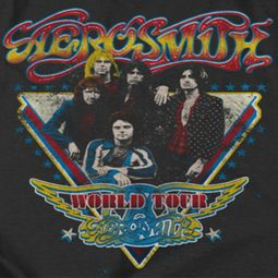 Aerosmith Triangle Stars Shirts