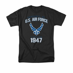 Air Force Shirt Property Of Black T-Shirt
