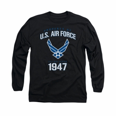 Air Force Shirt Property Of Long Sleeve Black Tee T-Shirt