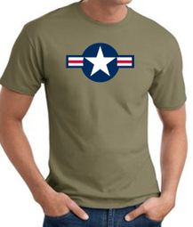 Air Force Shirts Insignia Tee T-shirts