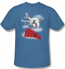 Airplane Shirt Logo Adult Carolina Blue Tee T-Shirt