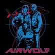 Airwolf Juniors T-shirt Graphic Black Tee Shirt