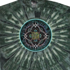 Alchemical Mandala Science Adult Unisex Tie Dye T-shirt Tee Shirt