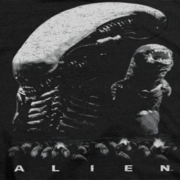 Alien Black And White Shirts